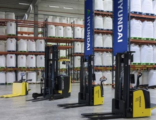 Alquiler renting equipos almacén Valencia Hyundai